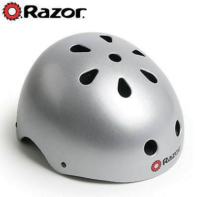NEW* Razor Safety Helmet - Silver - Med/Large 58 - 62cm