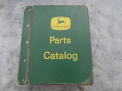 original John Deere 4240 4040 4840 Tractor Parts Catalog Lot of 3 in Binder