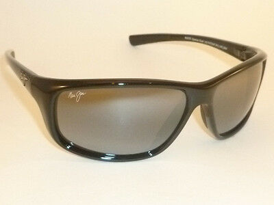Brand NEW  Authentic  MAUI JIM  SPARTAN REEF  Sunglasses  278-02  Polarized Grey