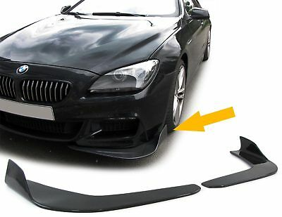 Front Spoiler Front Flaps Cup Wings Hoch Universal  Carbon