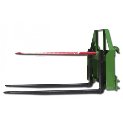 "Titan 60"" Pallet Fork Hay Spear Attachment fits John Deere"