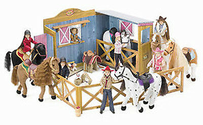 NEW Only Hearts Club Horse Stable & Tackroom 66 x 36cm