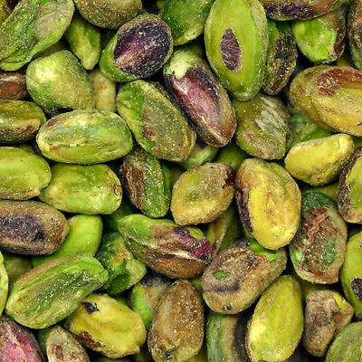 Pistachios Shelled Kernels Roasted Unsalted, 3Lbs