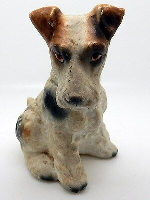 Vintage Wire Hair Terrier or Airedale Figurine