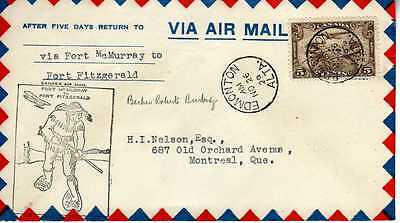 CANADA 1ers vols first flights airmail 183