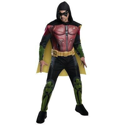 Robin Costume Batman Arkham Halloween Fancy Dress