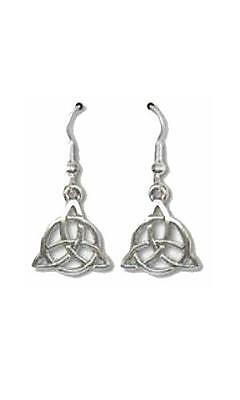 Triquetra Wire Earrings  - SS