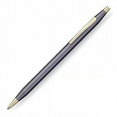 CROSS Classic Century Ballpoint Pen - GRAPHITE & GOLD - USA MADE