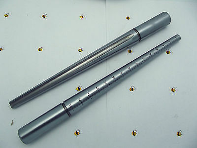 Beadsmith Slotted Superior STEEL RING Mandrel Jewelry Making Repair Sizer Heavy