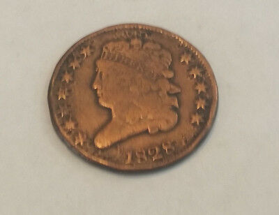 1828 Large Cent Penny.. Good Condition - 1726