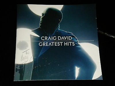 Craig David : Greatest Hits CD Album - (2008) - Signed to Amy - 15 Great Tracks