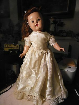 """19""""  1950's hard plastic  doll  Raving Beauty or Gadabout Gaddy?"""