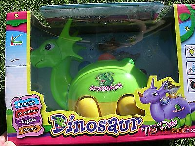 Funny Dinosaur With Baby- Battery Operated With Sound