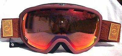 ladies ski goggles sfjb  $120 Womens RARE Giro Basis Brick Red Winter Ski Goggles Ladies roxy Zeiss  Lens