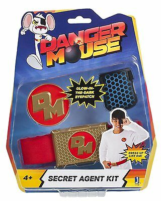 Danger Mouse Secret Agent Role Play Kit  *BRAND NEW*