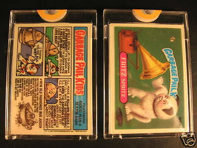 1987 Topps Garbage Pail Kids Acetate Proof Set #308A