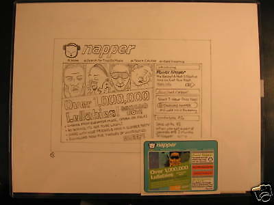 2006 Topps Wacky Packages ANS3 Card Back Art Chara Pet