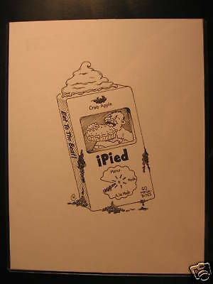 2006 Topps Wacky Packages ANS4 B&W Art Ipied