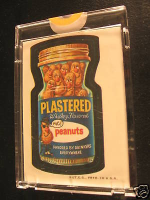 1973 Topps Wacky Packages Full Color Proof Plastered