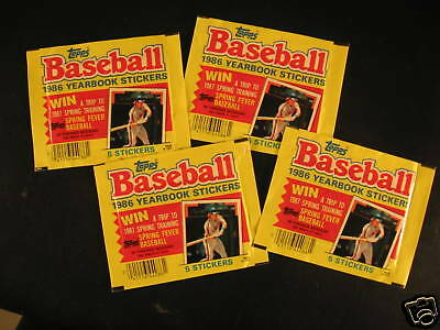 1986 Topps Wacky Packages (4) Wrong Wrappers