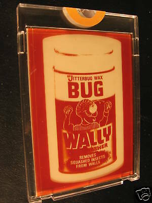 1974 Topps Wacky Packages Series 13 Proof Bug Wally
