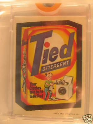1973 Topps Wacky Packages Series 1 Proof Tied