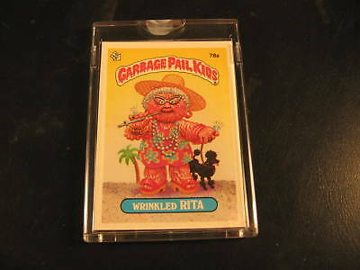 1985 Topps Garbage Pail Kids Series 2 Color Proof #78A