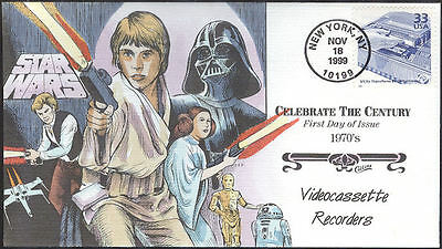 #3189h VCRs - Star Wars Collins FDC (00519993189h001)
