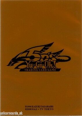 Official Konami 5D's High Quality Sleeves For YuGiOh Cards  :: Bronze :: Pkt 40
