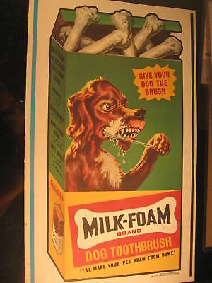1973 Topps Wacky Packages Oversize Poster Milk-Foam