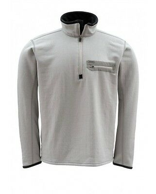 Simms Montana TechWool Zip Top ~ Boulder NEW ~ Closeout Size Large