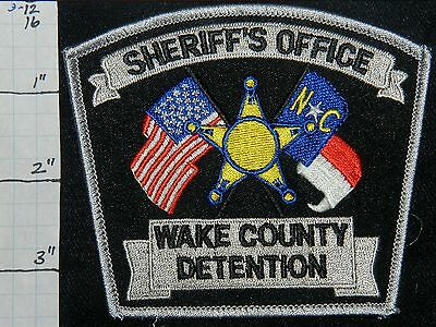 North Carolina, Wake County Detention Sheriff's Office Patch