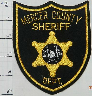 West Virginia, Mercer County Sheriff Dept Felt Patch