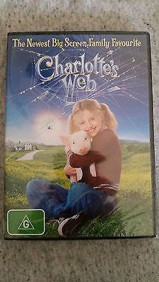 Dvd - Charlotte's Web - Region 4 - Brand New And Sealed