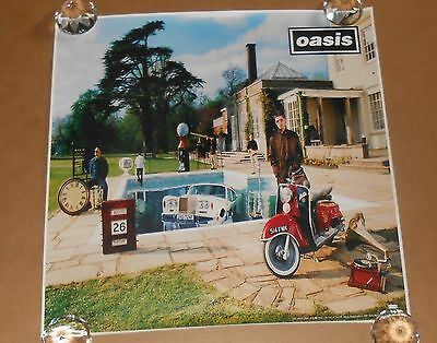 Oasis Poster 2-Sided Original 1987 Promo 24x24 Be Here Now