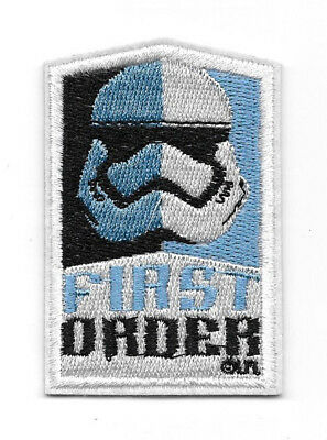 Star Wars The Force Awakens Movie First Order Trooper Logo Embroidered Patch NEW