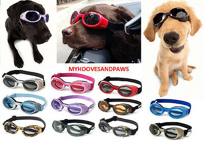 DOG Goggles Doggles ILS SUNGLASSES UV NEW Eye Protection SELECT