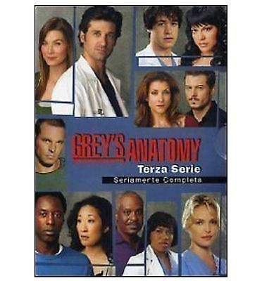 COFANETTO GREY'S ANATOMY  3° stagione completa in 7 dvd