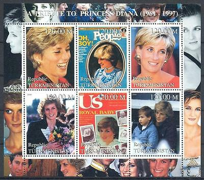 (051415) Diana, Turkmenistan - private issue -