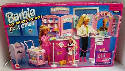 Barbie So Much To Do Post Office Playset (NEW)
