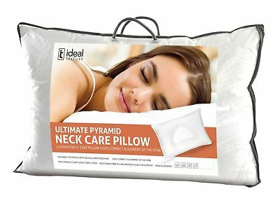 Ideal Textiles™ Ultimate Neck Care Pyramid Pillow - Corrects Spine Alignment