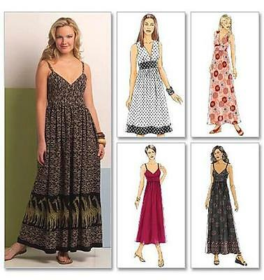 Butterick Sewing Pattern Misses' Summer Dress Sizes 8 - 24 B5181