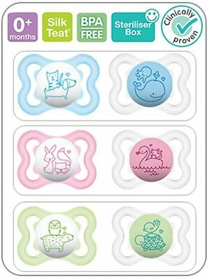 Mam Baby 0+ Month Air Soother 2 in pack(Design/Colour May Very)