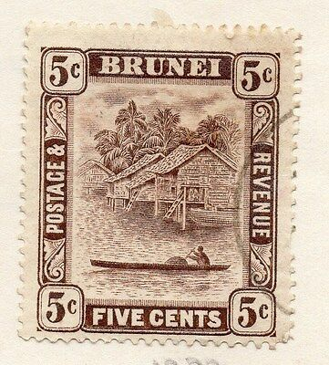 Brunei 1929 Early Issue Fine Used 5c. 053176