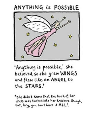 Edward Monkton Card: Anything Is Possible - New In Cello