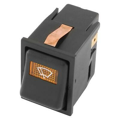 Car Electrical Off-On-On WIPER Illuminated Rocker/Dashboard Switch - Mini