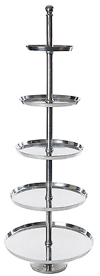 Etagere Aufsteller Standregal Obschale Regal A000 Aluminium  XXL - 170 cm hoch