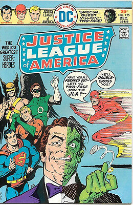 Justice League of America Comic Book #125, DC Comics 1975 VERY FINE-
