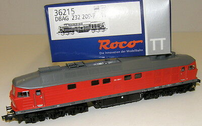 "Roco TT 36215 Diesel locomotive BR-232 209-7 the DB AG ""Novelty 2015 ""NEW + OVP"
