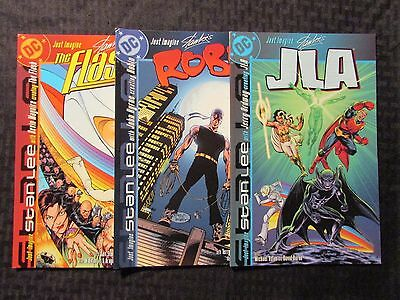 DC Just Imagine Stan Lee's LOT of 3 ROBIN JLA SHAZAM! NM Jerry Ordway